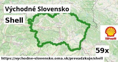 Shell v Východné Slovensko
