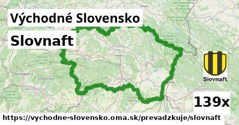 Slovnaft v Východné Slovensko