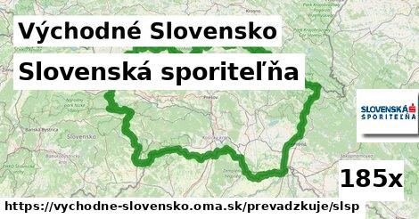 Slovenská sporiteľňa v Východné Slovensko