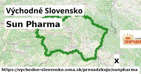 Sun Pharma v Východné Slovensko