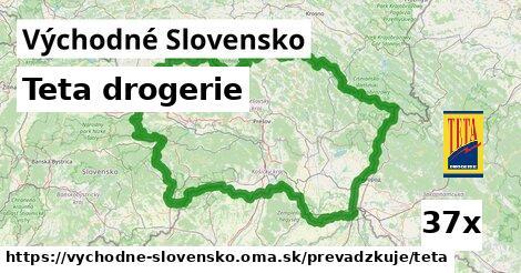Teta drogerie v Východné Slovensko