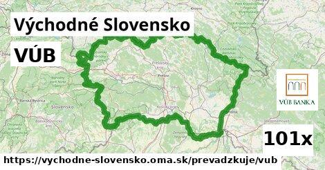 ilustračný obrázok k VÚB, Východné Slovensko