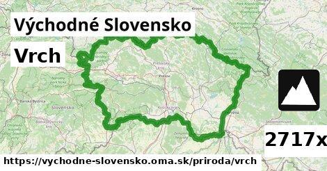 vrch v Východné Slovensko