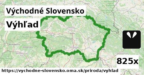 výhľad v Východné Slovensko