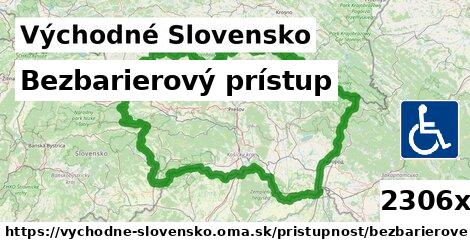 bezbarierový prístup v Východné Slovensko
