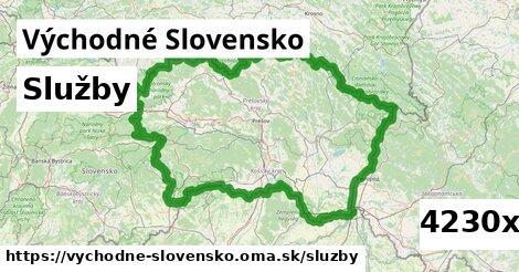 služby v Východné Slovensko