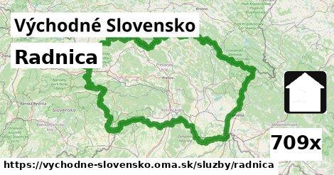 radnica v Východné Slovensko