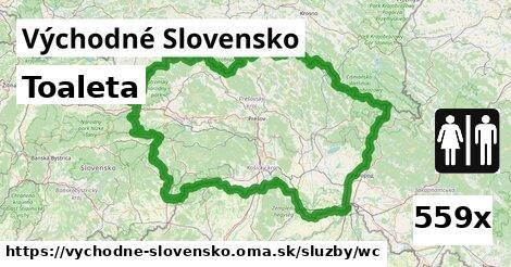 toaleta v Východné Slovensko