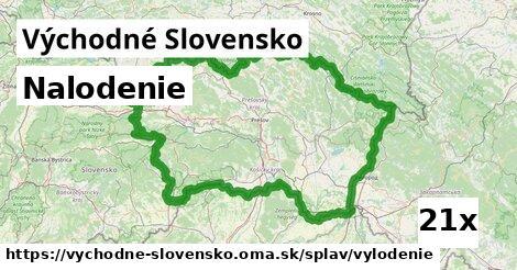 nalodenie v Východné Slovensko
