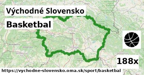 basketbal v Východné Slovensko