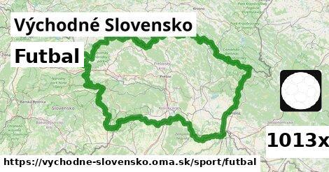 futbal v Východné Slovensko