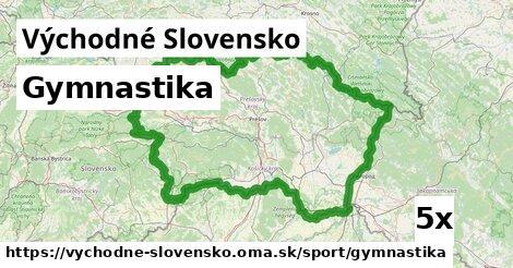 gymnastika v Východné Slovensko