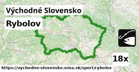rybolov v Východné Slovensko