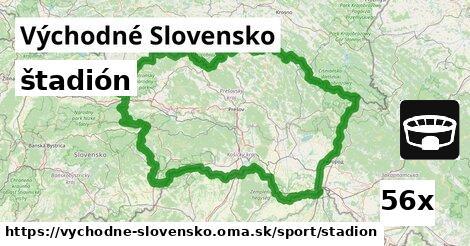 štadión v Východné Slovensko