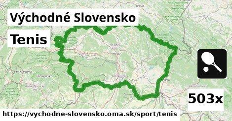 tenis v Východné Slovensko