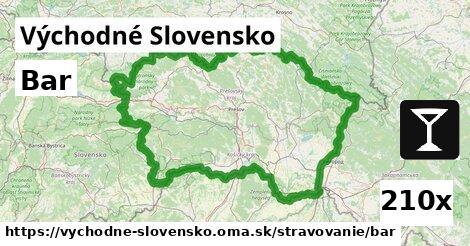 bar v Východné Slovensko