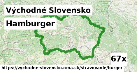 ilustračný obrázok k Hamburger, Východné Slovensko