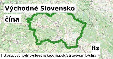 ilustračný obrázok k čína, Východné Slovensko