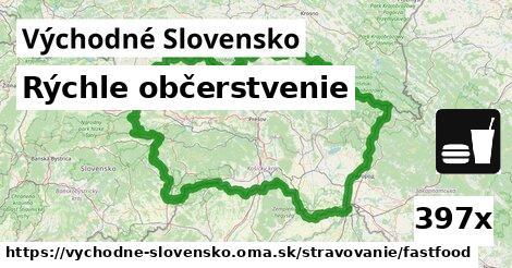 ilustračný obrázok k Rýchle občerstvenie, Východné Slovensko