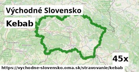 ilustračný obrázok k Kebab, Východné Slovensko
