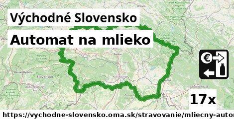 ilustračný obrázok k Automat na mlieko, Východné Slovensko