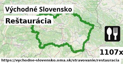 ilustračný obrázok k Reštaurácia, Východné Slovensko