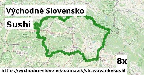 ilustračný obrázok k Sushi, Východné Slovensko