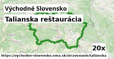 ilustračný obrázok k Talianska reštaurácia, Východné Slovensko