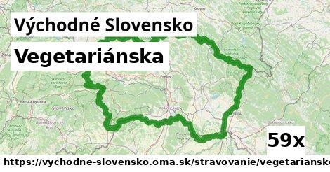 ilustračný obrázok k Vegetariánska, Východné Slovensko