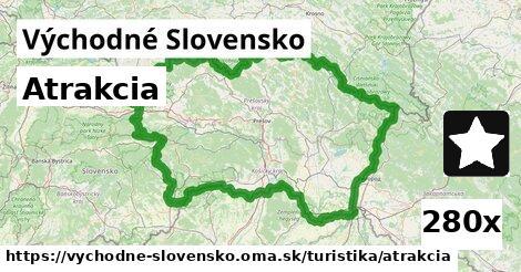 atrakcia v Východné Slovensko