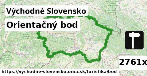 orientačný bod v Východné Slovensko