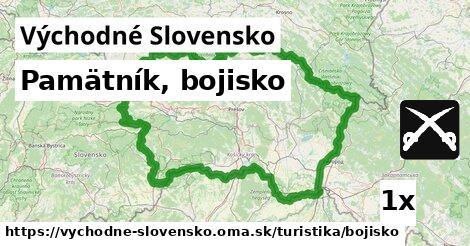ilustračný obrázok k Pamätník, bojisko, Východné Slovensko