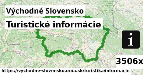 ilustračný obrázok k Turistické informácie, Východné Slovensko