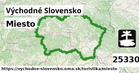 miesto v Východné Slovensko