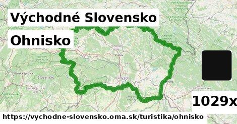ohnisko v Východné Slovensko