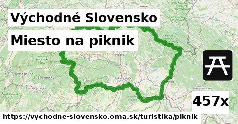 miesto na piknik v Východné Slovensko
