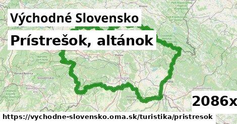 ilustračný obrázok k Prístrešok, altánok, Východné Slovensko
