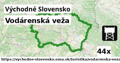 ilustračný obrázok k Vodárenská veža, Východné Slovensko