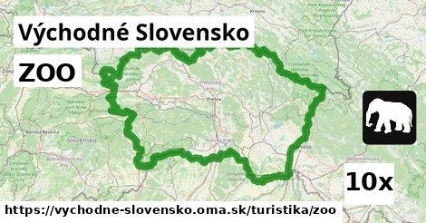 ilustračný obrázok k ZOO, Východné Slovensko