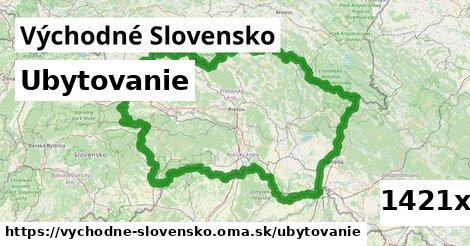 ubytovanie v Východné Slovensko