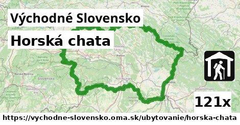 ilustračný obrázok k Horská chata, Východné Slovensko