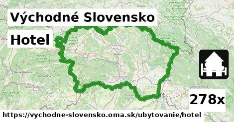 ilustračný obrázok k Hotel, Východné Slovensko