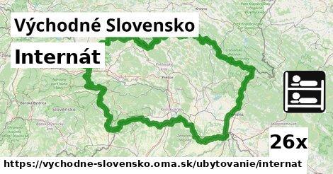 ilustračný obrázok k Internát, Východné Slovensko
