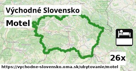 ilustračný obrázok k Motel, Východné Slovensko