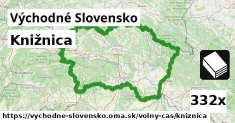 ilustračný obrázok k Knižnica, Východné Slovensko