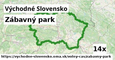 zábavný park v Východné Slovensko
