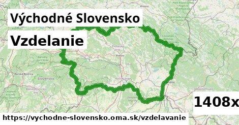 vzdelanie v Východné Slovensko