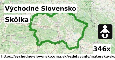 skôlka v Východné Slovensko