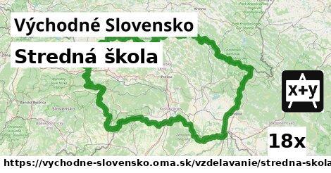 stredná škola v Východné Slovensko