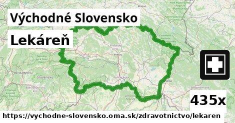 lekáreň v Východné Slovensko